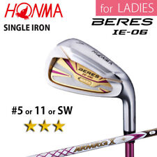 for LADIES 3-STAR HONMA GOLF JAPAN BERES IE-06 SINGLE IRON #5,11 or S ARMRQ 2018