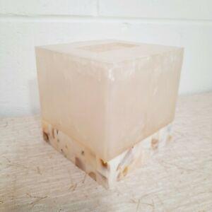 Decorative Tissue Box Cover Tile Accent