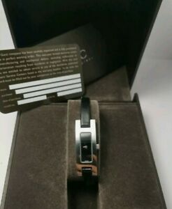 Gucci 3900L Black face  Ladies Watch with box and papers