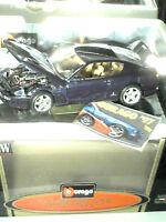 FERRARI  456 GT 1992 / 1:18 BURAGO  édit.1998 BLEUE