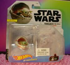 Star Wars Mandolorian The Child Baby Yoda Hover Pram ✰ 2021 Hot Wheels Starships