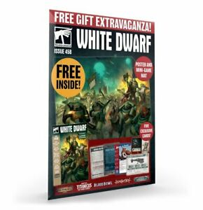 White Dwarf Magazine Issue 458 (November 2020) NEW complete with gifts