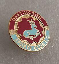 More details for dartington sports club fc (nr totnes devon) enamel football club crest pin badge