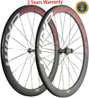 24/38/50/60/88mm Carbon Wheels 700C Bicycle Cycle Wheelset Shimano/Campagnolo