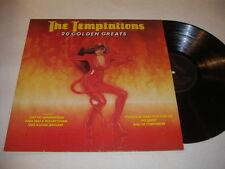 THE TEMPTATIONS '20 Golden Greats' 1980 UK LP - Tamla Motown STML 12140