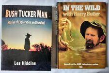 Bush Tucker Man Exploration & Survival by Les Hiddins & In the Wild Harry Butler
