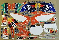 NEW Graphics kit KTM SXF EXC 2007 2008 2009 2010 2011 EXC-F DECAL STICKER SX-F