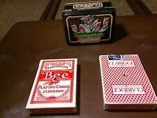 claridge casino and hotel cards and tin ala-002