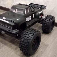 Unbreakable rc body for monster Arrma Notorious. WITH STICKERS