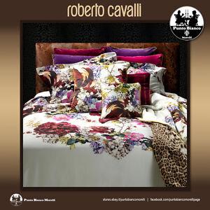 ROBERTO CAVALLI   FLORIS Sábana superior, bajeras y 2 fundas de almohada