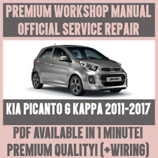 Kia car service repair manuals ebay workshop manual service repair guide for kia picanto g kappa 2011 2017 cheapraybanclubmaster