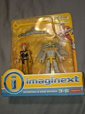 FP Imaginext Power Rangers SCORPINA & KING SPHINX 3 inch Figures MMPR New