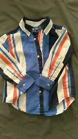 Polo, Ralph Lauren Toddler Boys Size 2T Multi Plaid Long Sleeve Shirt
