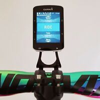Out Front Stem Mount Cycling Computer - Garmin Wahoo Cateye GoPro GPS Rainbow
