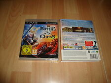 BATTLE VS. CHESS DE TOPWARE INTERACTIVE PARA LA SONY PS3 NUEVO PRECINTADO