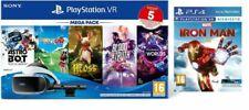 Sony PS VR Mega Pack v3 Set di Occhiali Immersivi FPV, PlayStation Camera e 5 Giochi