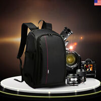 Backpack Camera DSLR Bag Case for Camera Lenses Laptop Photography Accessories