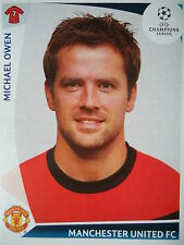 Panini 85 Michael Owen Manchester United UEFA CL 2009/10