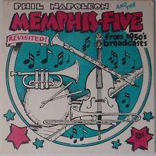 PHIL NAPOLEON and MEMPHIS FIVE: 50s Radio Broadcasts VINYL LP NM- Jazz