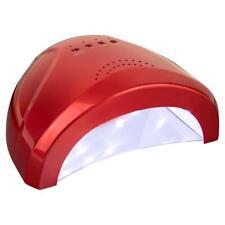 LED UV Lampe Gel 24/48 Watt Nagelstudio Lichthärtungsgerät Nagel Lampe Rot