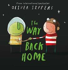 The Way Back Home by Oliver Jeffers (Paperback, 2008)-9780007182329-G006