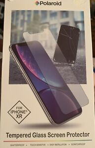 Tempered Glass Screen Protector, Shatterproof Touch-Sensitive iPhone XR Polaroid