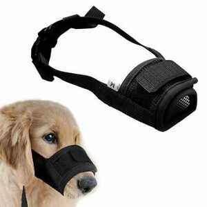 Adjustable Breathable Safety Dog Muzzles Anti-Biting Anti-Barking Anti-Chewing