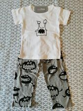 Boys Grey Little Monster Outfit