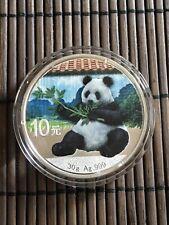 Silber Panda 2017 30g 999. Silbermünze 10 Yuan COLOR