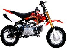 Coolster QG-213A New 110cc Fully Auto  Mini Size Kids Dirt Bike M Red