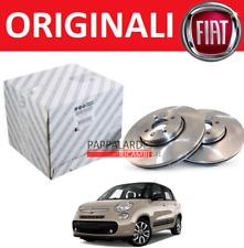 COPPIA DISCHI FRENO POSTERIORI ORIGINALI FIAT 500 L