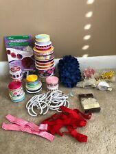 Ribbon Hair Bow Making Supplies Princess Hair Clips Craft Supplies