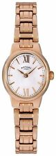 Rotary Ladies' Rose Gold Plated Water Resistant Easy Read Dial Watch