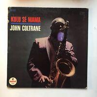 JOHN COLTRANE ~ KULU SE MAMA ~ 1966 ORIG STEREO ~ VAN GELDER ~ LP IMPULSE