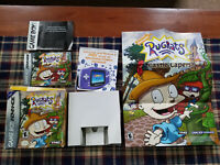 Rugrats Castle Capers - Authentic - Game Boy Advance - GBA - Box / Manual Only!