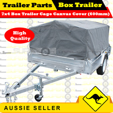 Superior 7X4 BOX TRAILER CAGE CANVAS COVER (600mm)