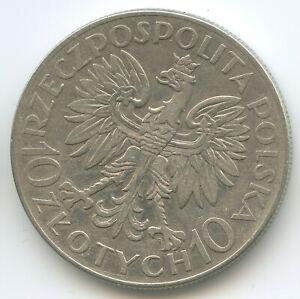GS1164 - Poland 10 Zlotych 1933 Y#33 Silver Jan Sobieski Polskich Polska Polen