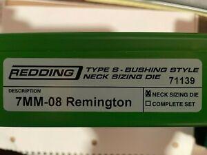 Redding Type S Neck Sizing Die 7mm-08 Remington