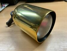 """VINTAGE 1970s CONCORD A18355 7""""-TALL GOLD SPOTLIGHT WITH BULB (P4)"""