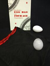 wProudlock's Egg Bag and Four Ace Presentations Original Booklet Edward Bagshawe