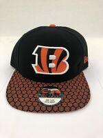New Era 59fifty Cincinnati Bengals NFL On-Field Snapback Hat Cap