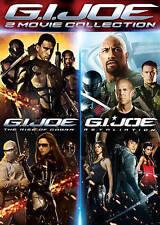 G.I. Joe: The Rise of Cobra/G.I. Joe: Retaliation (DVD, 2016, 2-Disc Set)