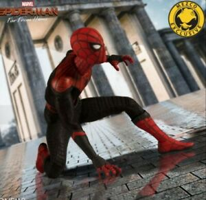 Mezco One 12 Spider Man Far From Home Deluxe Spiderman Exclusive Ready To Ship!