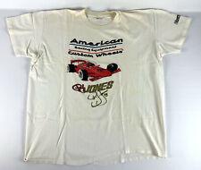 PJ Jones #21 Signed Autographed American Racing Wheels T-shirt Size XL