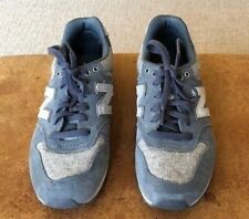 New Balance Running Tweed and Suede Lace-Up Sneakers, Size 6.5B