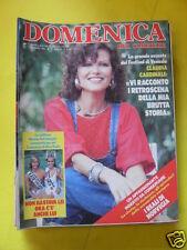 DOMENICA DEL CORRIERE ANNO 88 N. 37 13 SETTEMBRE 1986