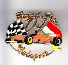RARE BIG PINS PIN'S 3D .. AUTO CAR F1  ITALIE GRAND PRIX BUDAPEST 2004 ~A5