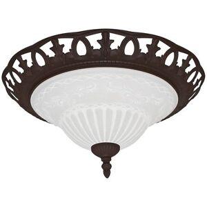 Mediterrane Deckenleuchte Ø ca.38 cm Kolonialstil Landhaus LED möglich