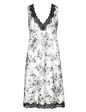 Knee Length Floral Vest Lingerie & Nightwear for Women