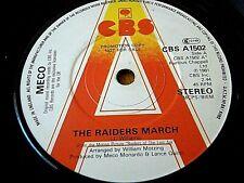 "MECO - THE RAIDERS MARCH  7"" VINYL PROMO"